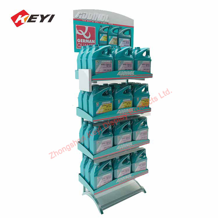 engine oil display stand
