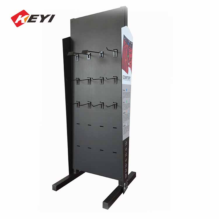 Professional Custom Lingerie Display Stand With Hooks