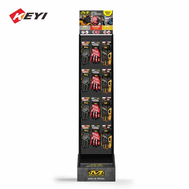 metal gloves display stand for retail shop