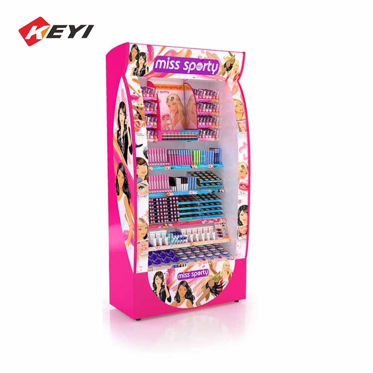 cosmetic display shelves for retail shop